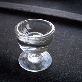 "Victorian ""Penny Lick"" Ice cream glass"
