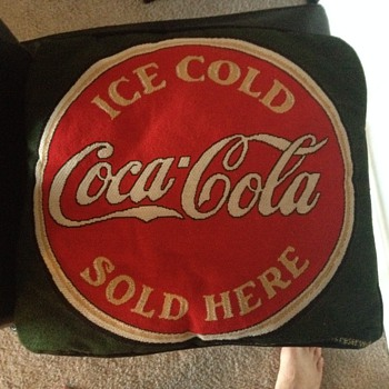 Coca Cola Pillow