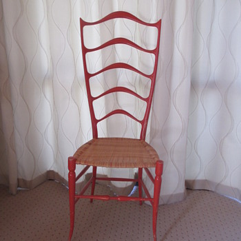Danish vintage ladderback chair