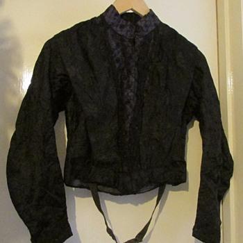 Victorian/Edwardian 1900's silk bodice