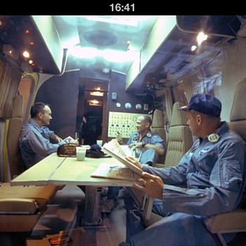Table from Apollo 11 crew trailer! - Military and Wartime