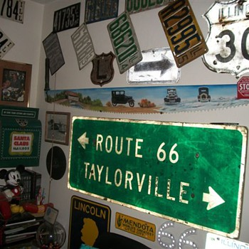 Just a few of my Route 66 sign collection - Signs