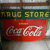 1935 Coca-Cola DRUG STORE Sign