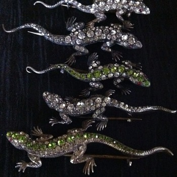 The mysterious maker's lizards hoard! - Fine Jewelry