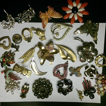Vintage or older brooches