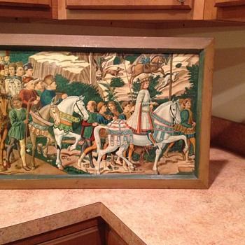 Antique Benozzo Gozzoli Journey of the Magi Print - Posters and Prints