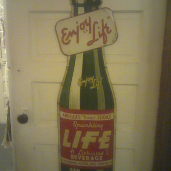 "LIFE  ""A Lithiated Beverage"" - Signs"