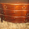 Antique locking dresser