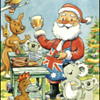 CHRISTMAS GREETINGS TO ALL FORM DOWN UNDER OZZIE CARDS