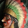 Chalkware Indian from Mexico