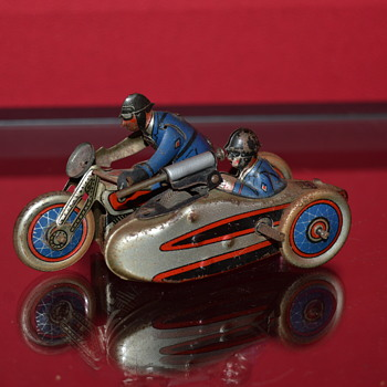 SFA motorcycle blue - Toys