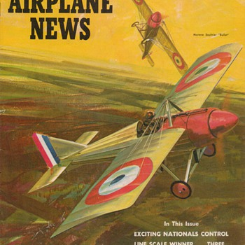 1965 &amp; 1967 Model Airplane News magazines - Paper