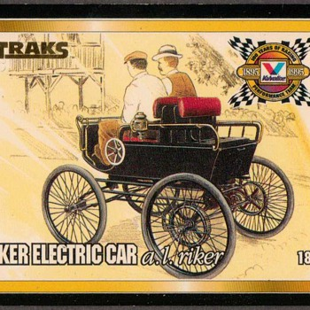 Valvoline Racing Oil - TRAKS Card - Cards