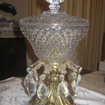 Vintage or Not ? Reproduction ? Candy dish ?? what category ?? - Kitchen