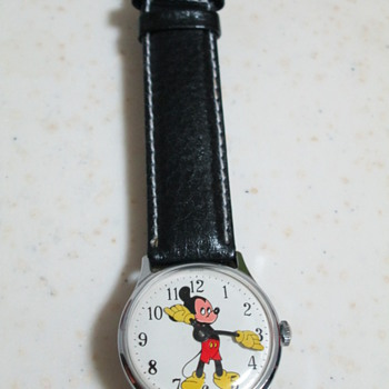 1971 Ingersoll Mickey Mouse Watch - Wristwatches
