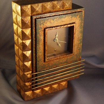 A New Art Deco Clock