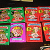 Garbage Pail kids gum and  cards
