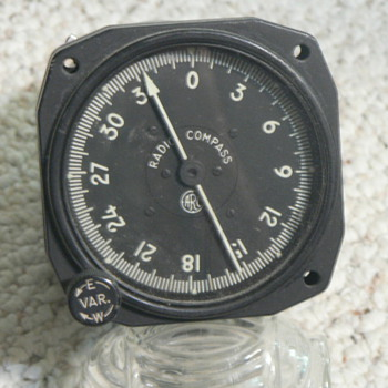 Aircraft Instrument ADF indicator