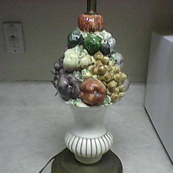 VINTAGE FRUIT HARVEST LAMP - Lamps