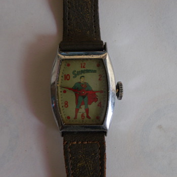 1955 Ingraham Superman Wrist Watch - Wristwatches