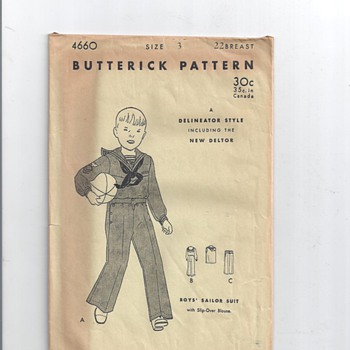 LITTLE BOYS PATTERNS 