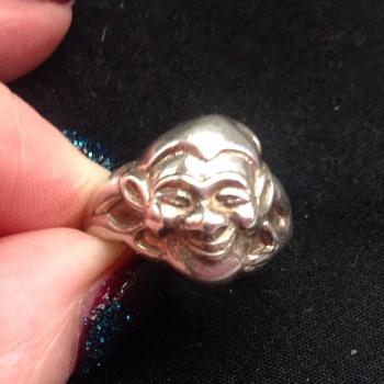 Silver Bernard Instone ring