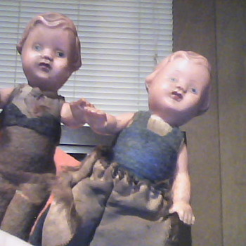 My favorite antiques - Dolls