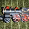 Toy train bank