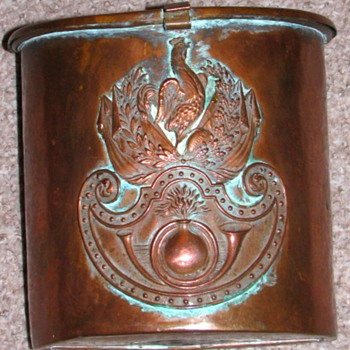 Unique French Copper Item unknown origin