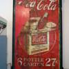 vintage coke sign