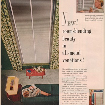1950 Levolor Advertisement