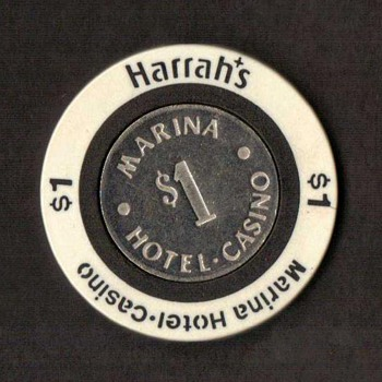 Harrah's Casino $1 Gaming Chip