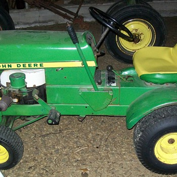 1969 John Deere 60 and #80 garden cart