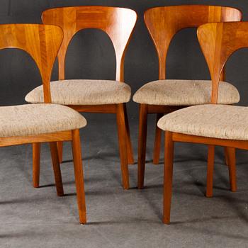 Peter Chairs Niels Koefoed für Koefoeds Hornslet - Furniture