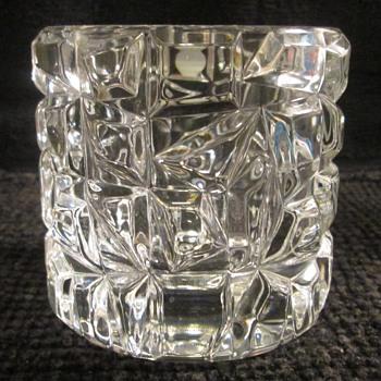 Tiffany Crystal Sierra Votive Candleholder  - Glassware