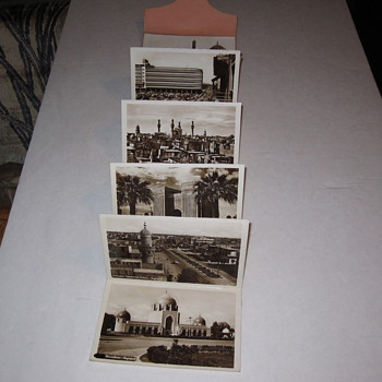 Baghdad Postcard Set Garage Sale Find 10 RPPC Set