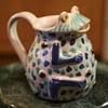 Talavera Frog Pitcher from Mexico