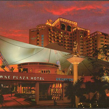 Crowne Plaza Hotel - Shenzhen, China Postcard