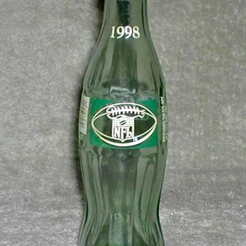1998 - Coca Cola / NFL Bottle - Bottles