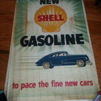 Shell Gasoline Vintage Poster  - Petroliana