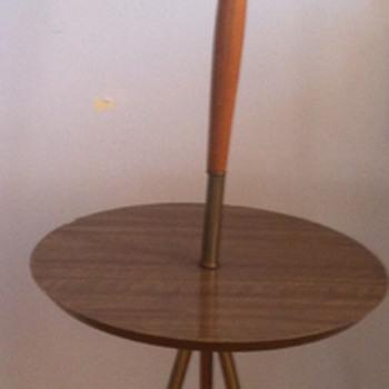 Mid century modern floor lamp.