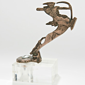 'Centaur' bronze by Francois Bazin -Car Mascot - Art Deco