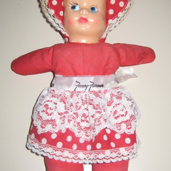 Vintage Fanny Farmer Doll - Dolls