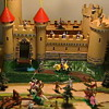 1960's Marx  Knights and Castle Miniature Playset