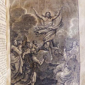 1828 Prints from Das Neue Testament Unsers Herrn Und Heilandes Jesu Christi - Books