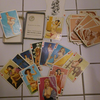 My grandfathers cards, my heritage!