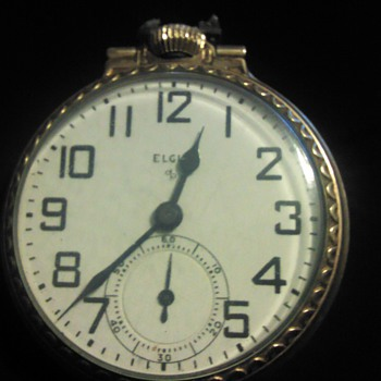 Unknown Elgin Pocket Watch - Pocket Watches