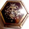 Victorian Hexagonal Piqué Brooch