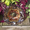 Millersburg Strawberry Wreath in amethyst w/3in1 edge