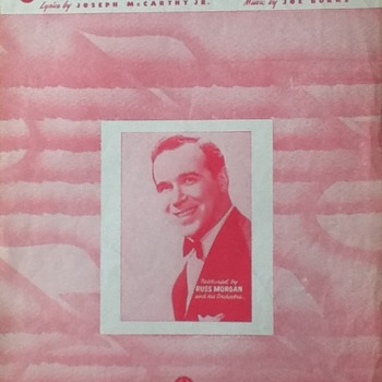 &quot;Rambling Rose&quot; Sheet Music - Paper